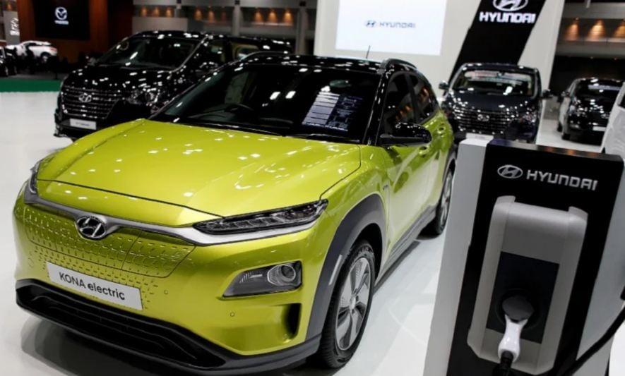 سيارة هيونداي الكهربائية كونا - بطاريات السيارات الكهربائية