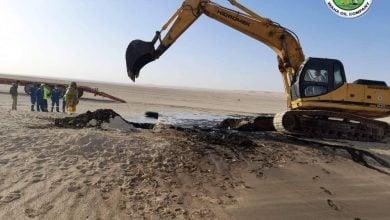 Photo of السيطرة على تسرّب نفطي في ليبيا