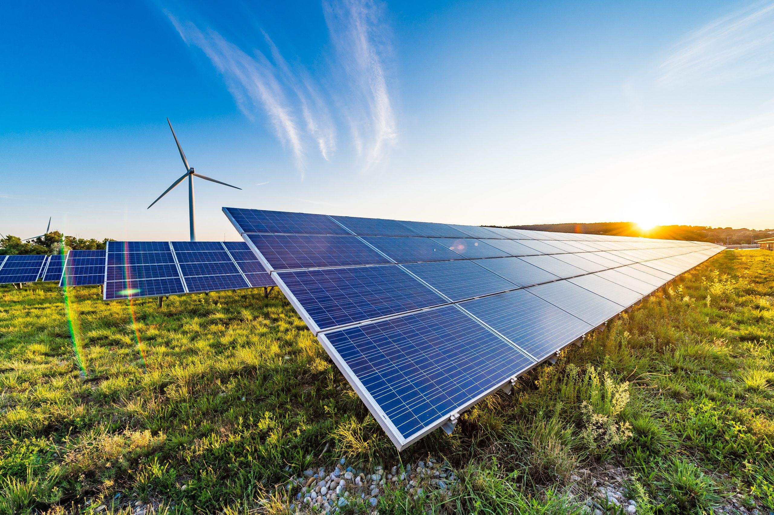 المحطات الشمسية - الطاقة المتجددة تحول الطاقة - الطاقة الشمسية