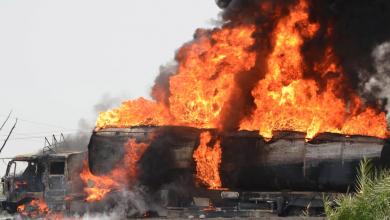 Photo of انفجار شاحنة غاز على الحدود بين إيران وأفغانستان