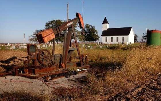آبار النفط والغاز المهجورة