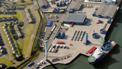 Photo of ميناء بريطاني ينشئ محطة لتوفير الطاقة النظيفة