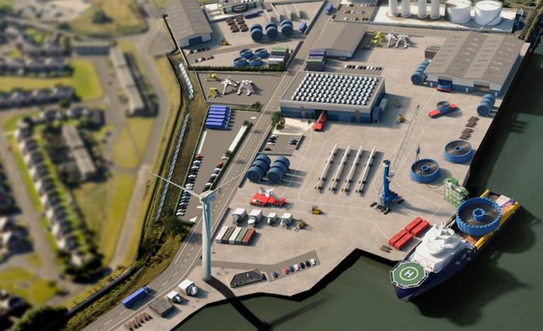 ميناء بليث البريطاني ينشئ محطة لتوفير الطاقة النظيفة