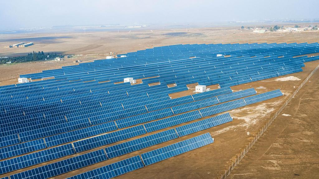 مشروعات الطاقة الشمسية في الأردن