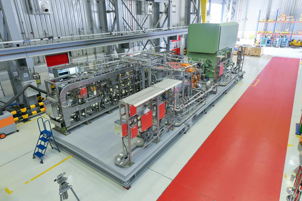 ضاغط هواء من إنتاج سيمنس للطاقة