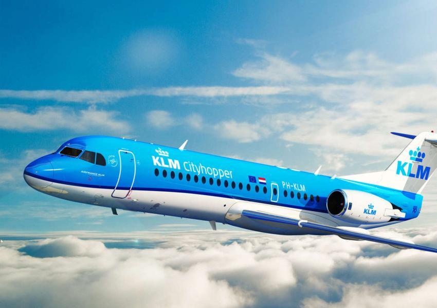 طائرة تابعة لشركة كي إل أم الهولندية
