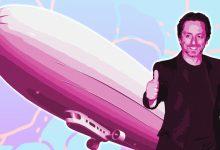 Photo of سيرغي براين يستعد لإطلاق أكبر منطاد هيدروجين في العالم