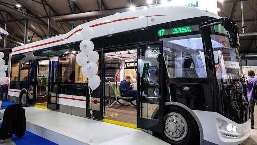 الحافلات الكهربائية في روسيا