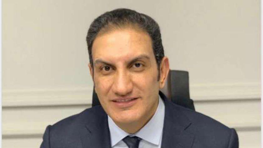 أسامة جنيدي رئيس لجنة الطاقة بجمعية رجال الأعمال المصريين