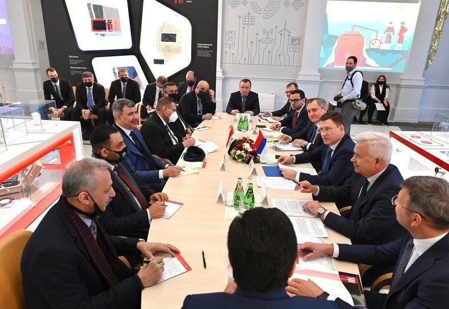 اجتماع موسع بين الجانبين العراقي والروسي في موسكو - الصورة من وزارة النفط العراقية