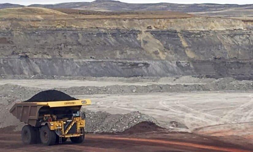 ألبرتا- تعدين الفحم