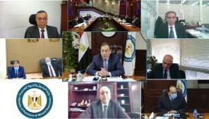 إيجاس - جانب من الجمعية العمومية - الصورة من وزارة البترول (14 مارس 2021)