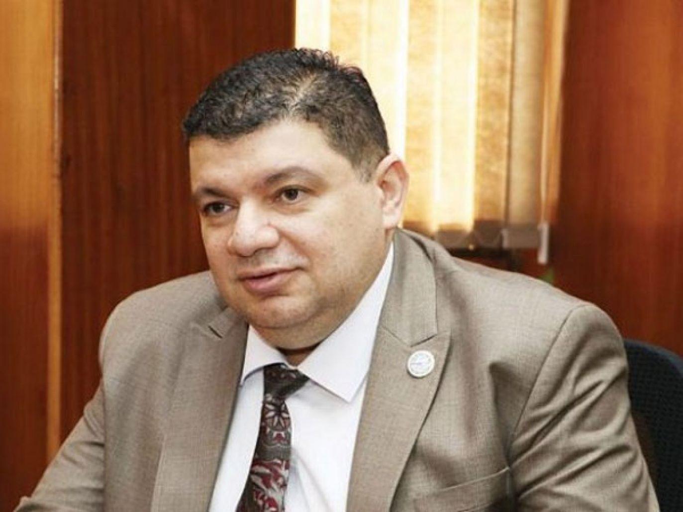 رئيس هيئة المحطات النووية المصرية أمجد الوكيل