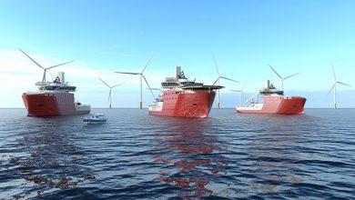 Photo of توريد 3 سفن خدمات لأكبر محطة رياح بحرية في العالم