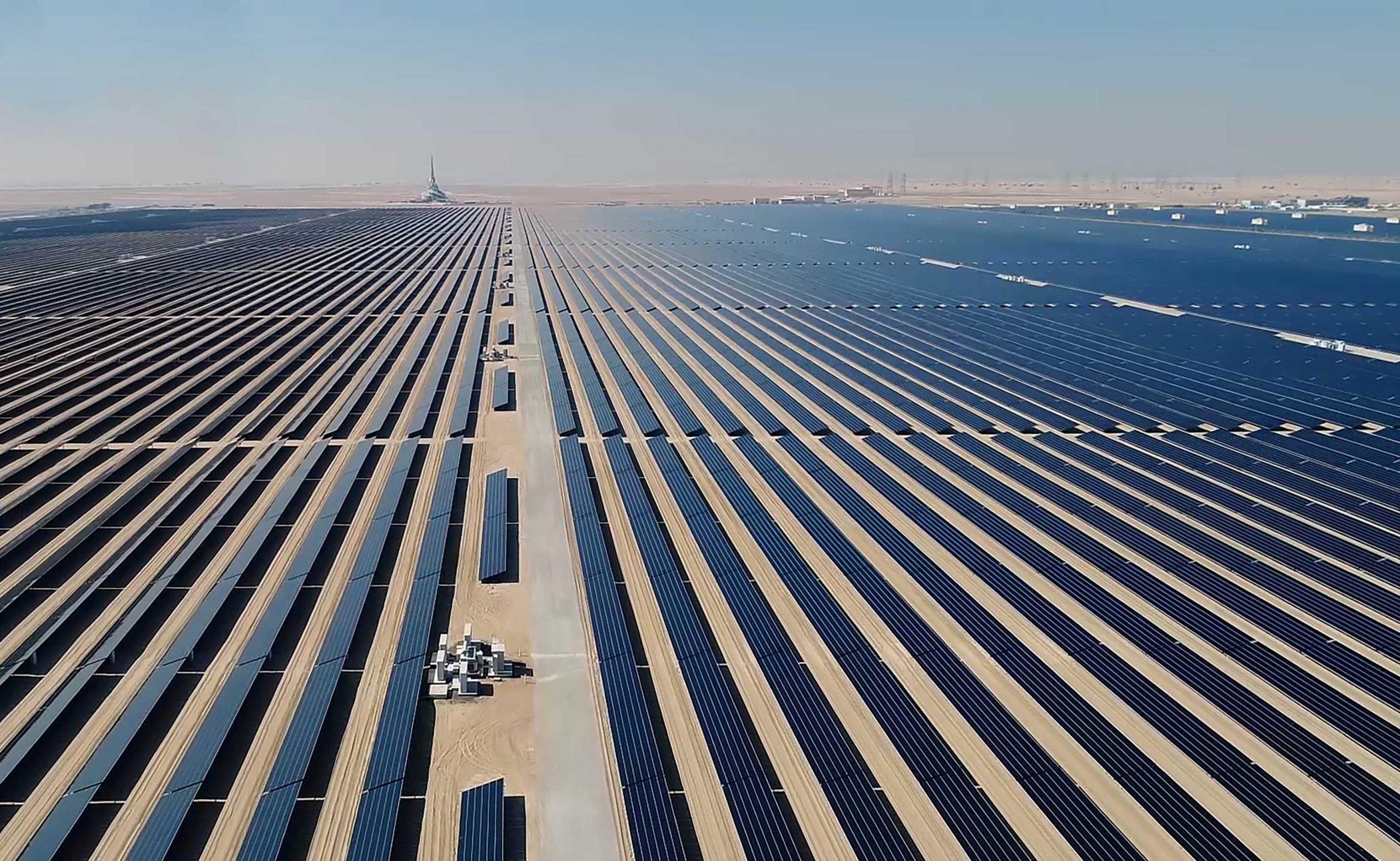 محطة طاقة شمسية في تكساس