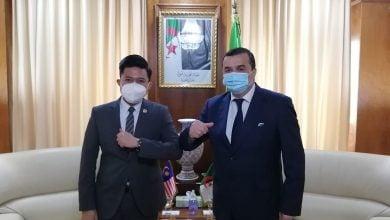 Photo of وزير الطاقة الجزائري يبحث ملفّات التعاون مع ماليزيا