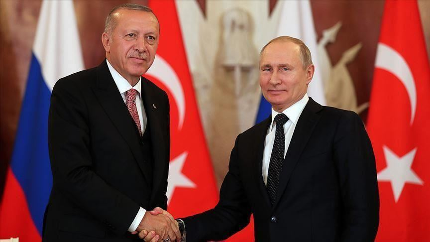تركيا - فلاديمير بوتين وأردوغان - أرشيفية