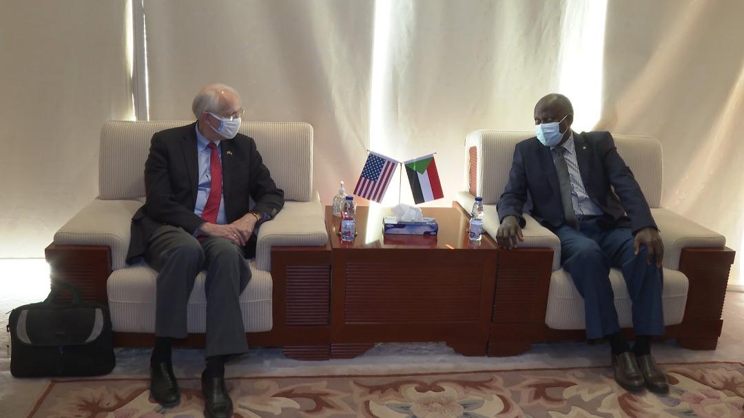 وزير الطاقة السوداني - المبعوث الأميركي - سد النهضة