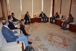السودان - وزير الطاقة والنفط السوداني والسفير التركي