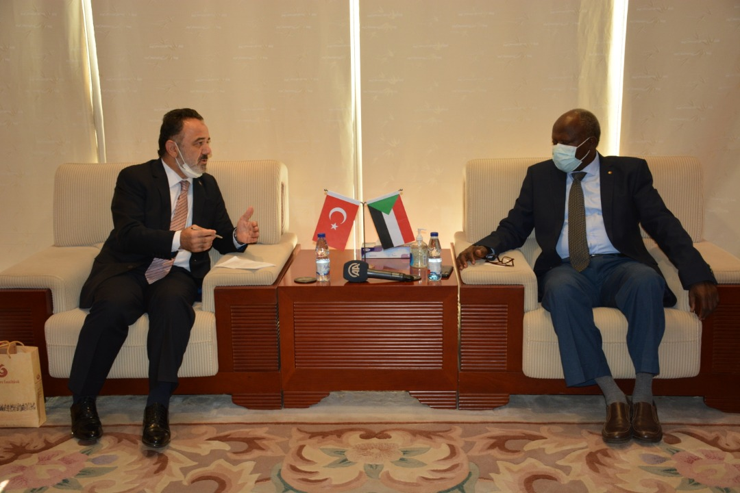 وزير الطاقة والنفط السوداني - السودان - تركيا