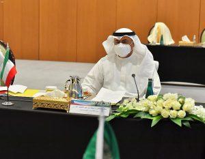 وزير انفط الكويتي محمد الفارس - الصورة من واس (17 مارس 2021)