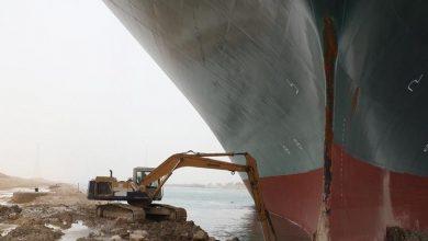 Photo of فيديو جديد لمحاولة تعويم السفينة إيفر جيفن