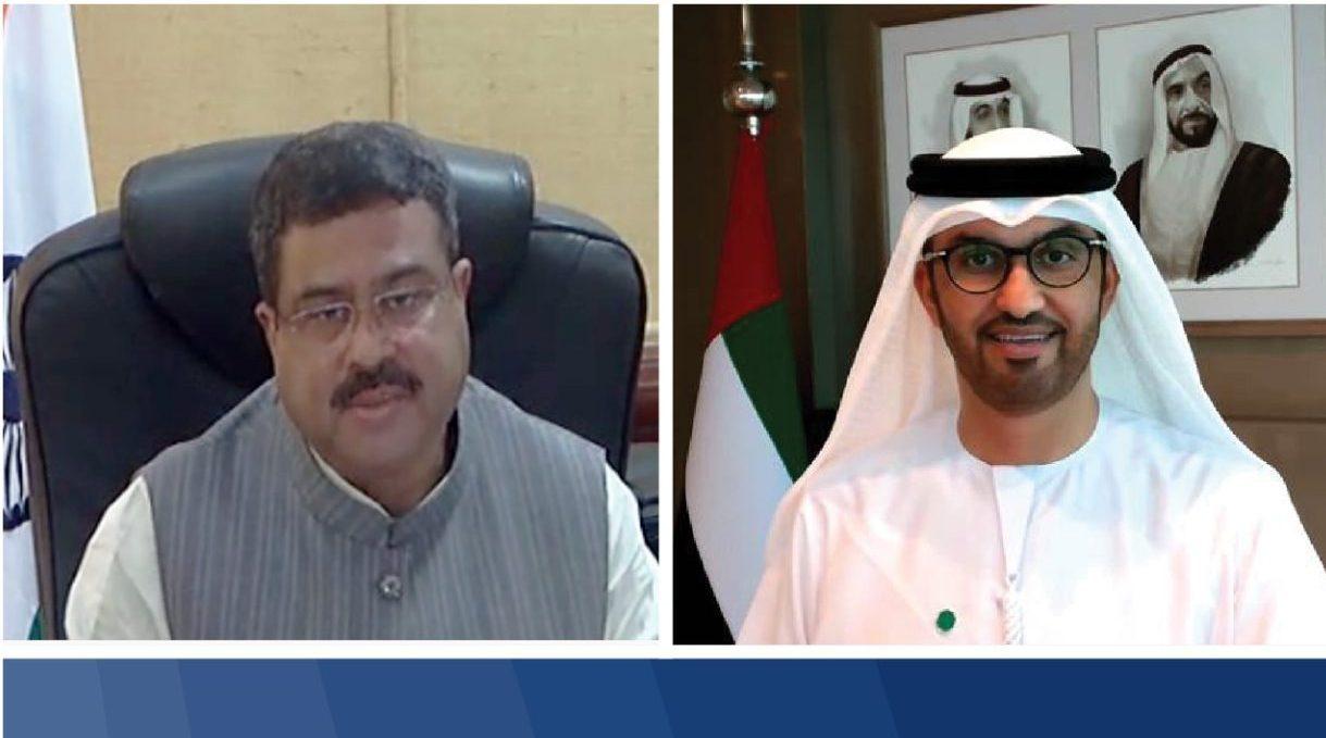 سلطان الجابر - أدنوك - وزير النفط الهندي