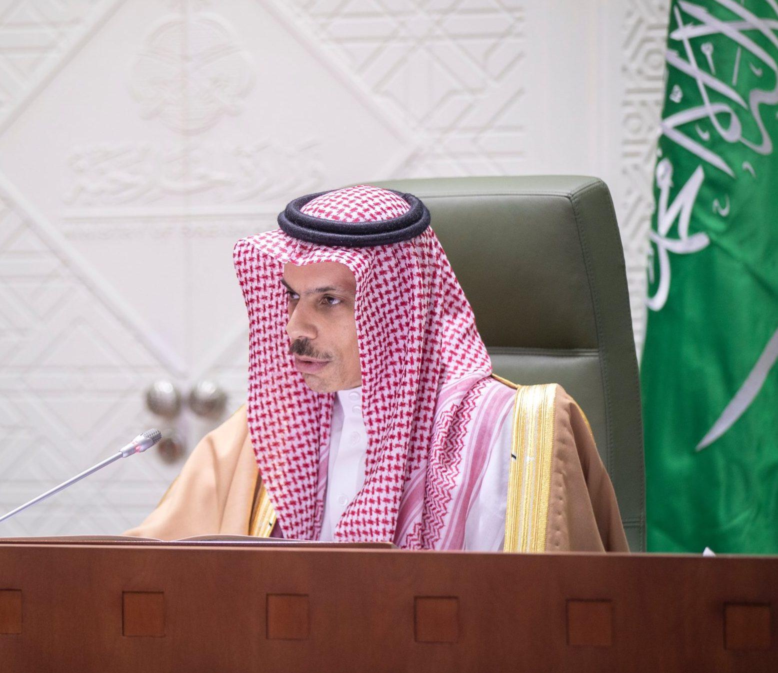 وزير الخارجية السعودي الأمير فيصل بن فرحان - الصورة من صفحة الوزارة على تويتر