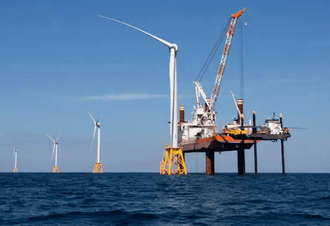 مشروعات الرياح البحرية
