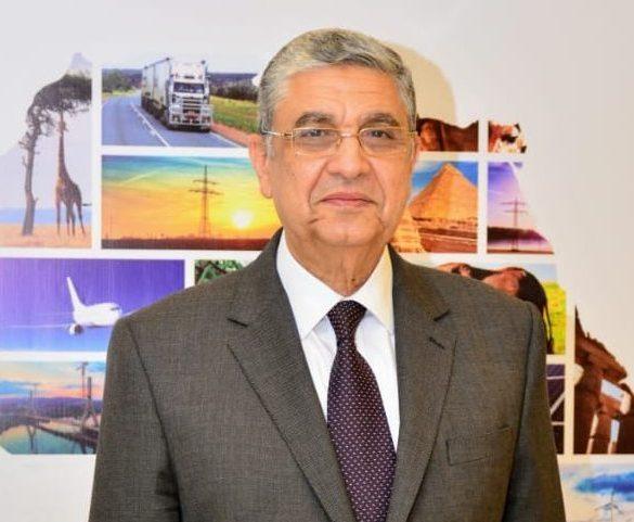 وزير الكهرباء المصري محمد شاكر - الصورة من الوزارة (15 مارس 2021)