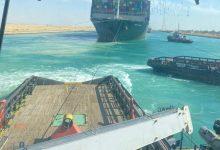 Photo of قناة السويس.. فيديو جديد يكشف جهود تعويم السفينة إيفر جيفن