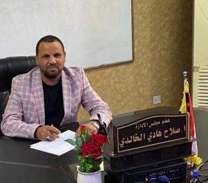 عضو مجلس إدارة كهرباء الوسط العراقية صلاح الخالدي