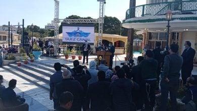 Photo of رئيس قناة السويس: السفينة إيفر جيفن بدأت التجاوب مع جهود التعويم (فيديو)