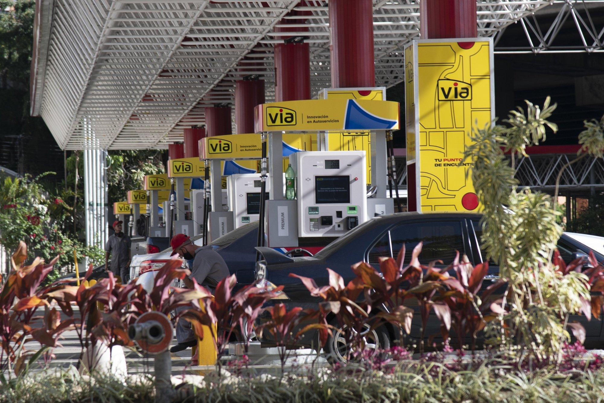 محطات الوقود الجديدة في فنزويلا