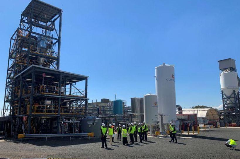 إنتاج الهيدروجين من الفحم