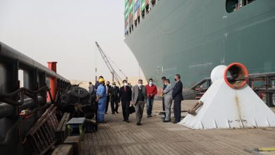 Photo of قناة السويس.. شركة إنقاذ هولندية تشرف على تعويم السفينة العالقة