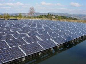 أكبر محطة طاقة شمسية عائمة في الهند