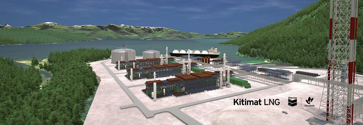 تصور لمشروع كيتمات للغاز في كندا