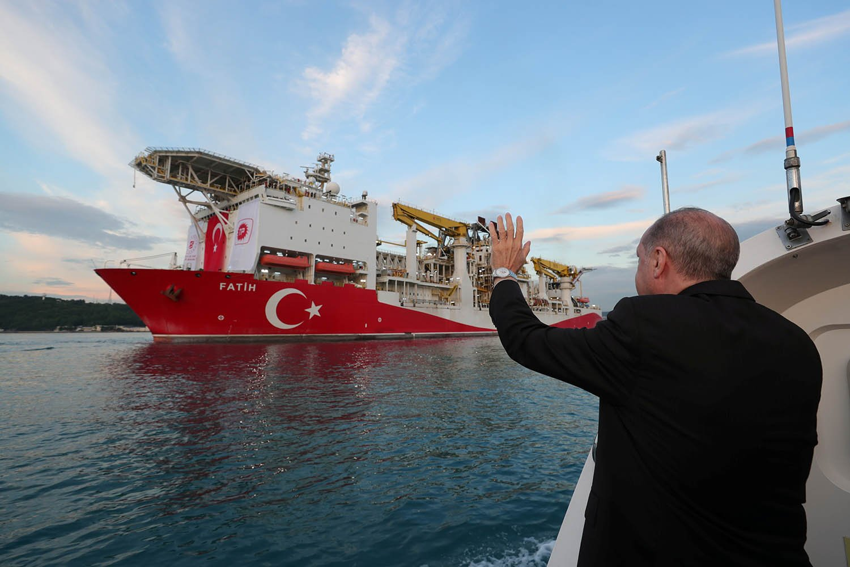 الغاز - تركيا - الرئيس التركي