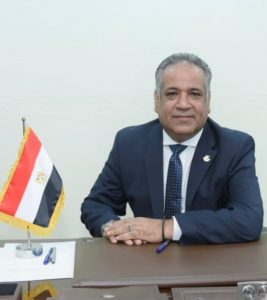 الدكتور يسري الشرقاوي رئيس جمعية رجال الأعمال المصريين الأفارقة
