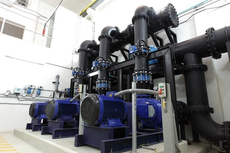 أحد مشروعات شركة الخريف لتقنية المياه والطاقة