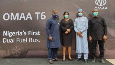 Photo of نيجيريا تطلق أولى حافلاتها المحلية العاملة بالغاز الطبيعي