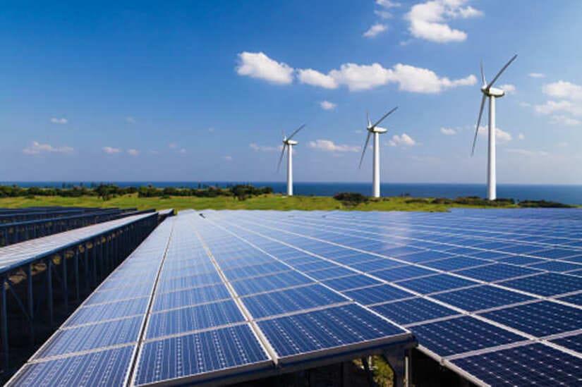 الطاقة الشمسية- طاقة الرياح- الكهرباء النظيفة - إنيل غرين باور