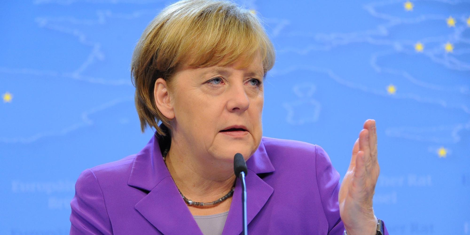 ألمانيا - المستشارة الألمانية أنغيلا ميركل