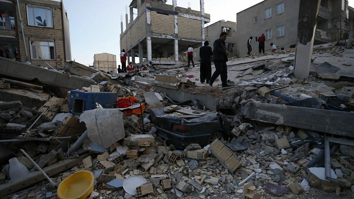 زلزال جنوب إيران