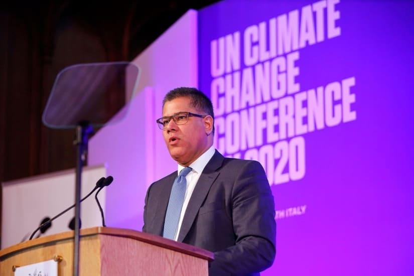 رئيس مؤتمر المناخ يشيد بخفض الانبعاثات