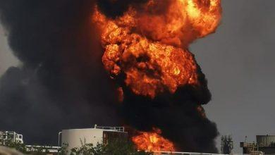 Photo of شركة النفط المكسيكية تسيطر على حريق ضخم بأحد المصافي (فيديو)