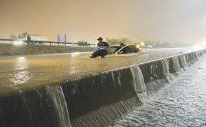 أمطار غزيرة في الكويت- أرشيفية