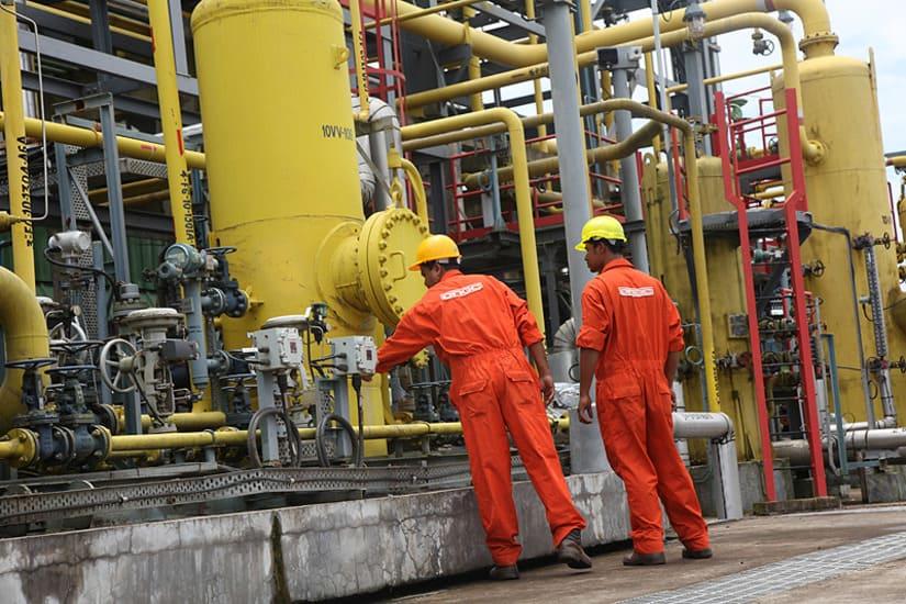 الهند- الغاز الطبيعي