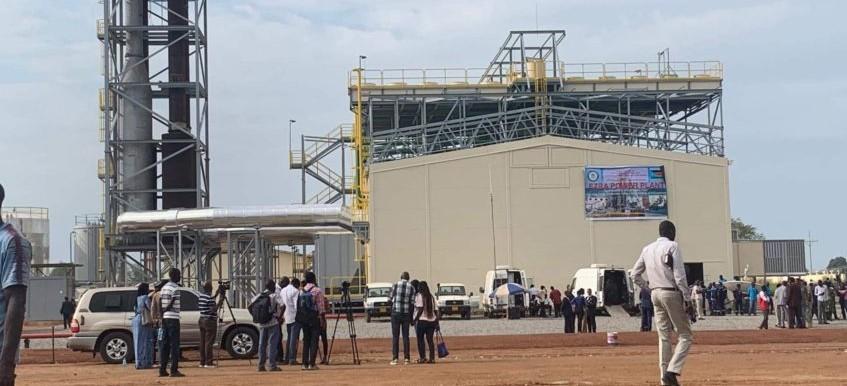 جوبا - محطة الكهرباء في جوبا